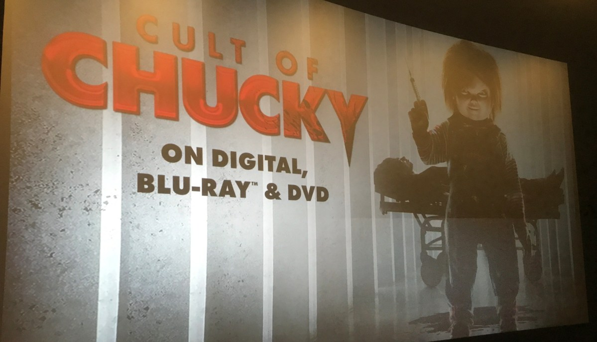 Hi, I'm Joanne, Wanna read? – FrightFest – Cult of Chucky screening